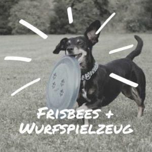 Frisbees und Wurfspielzeug
